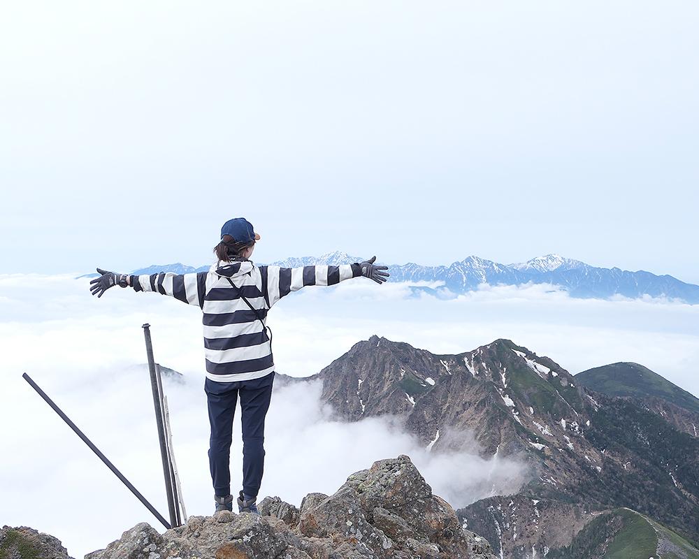 南八ヶ岳縦走2日目【八ヶ岳最高峰赤岳へ】