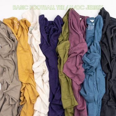 天然の抗菌作用を持つヘンプTシャツでおうち時間を快適に