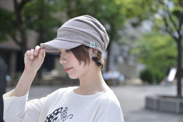 nakota(ナコタ)スウェットキャスケット すっぴん隠し