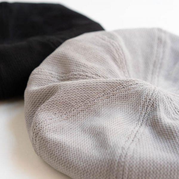 綿100%のメッシュ生地で通気性抜群