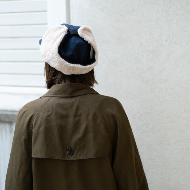 nakota フライトキャップ 耳付き帽子