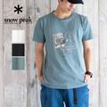 アウトドアで映えるスノーピークのTシャツ