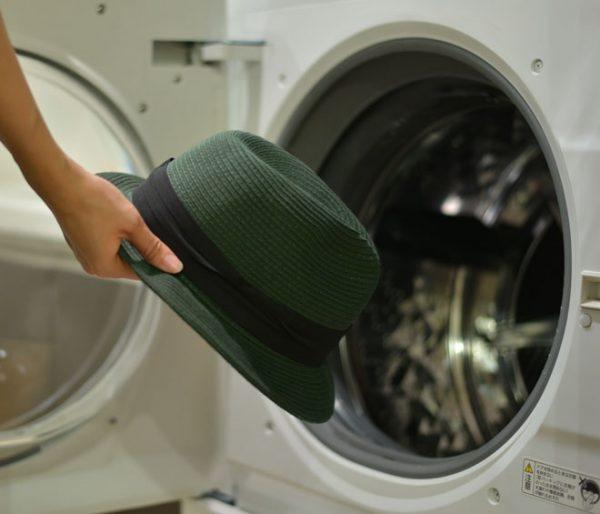 洗濯機で洗える バイザーハット