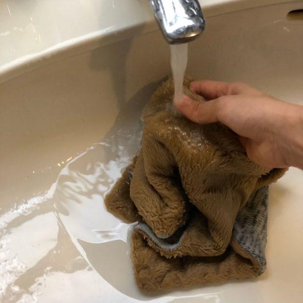 ウール50%のネックウォーマー 自宅での洗濯はどうしたらいい?